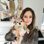 Vanessa and pooch